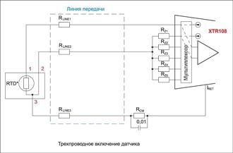 Трехпроводная схема подключения датчика фото 233