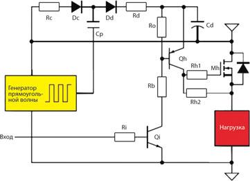 Зарядное устройство energy 650 схема
