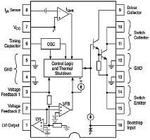 Lm2595 схема включения